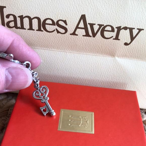 0f454bebf0bd6 James Avery Key to My Heart Charm